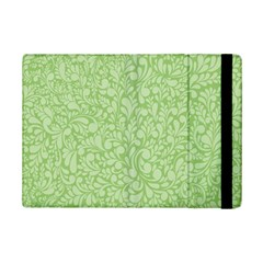 Green Pattern Ipad Mini 2 Flip Cases by Valentinaart