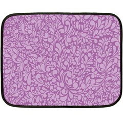 Pattern Fleece Blanket (mini) by Valentinaart