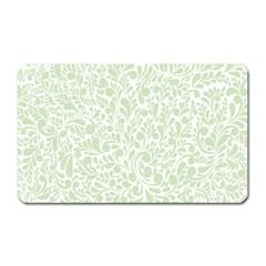 Pattern Magnet (rectangular) by Valentinaart