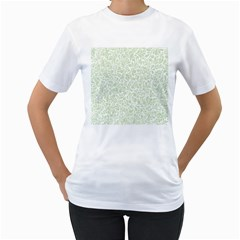 Pattern Women s T Shirt (white)  by Valentinaart