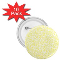 Yellow Pattern 1 75  Buttons (10 Pack) by Valentinaart