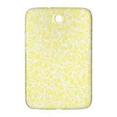 Yellow Pattern Samsung Galaxy Note 8 0 N5100 Hardshell Case  by Valentinaart