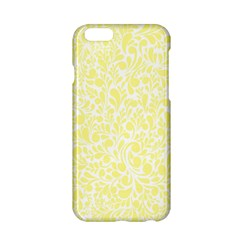 Yellow Pattern Apple Iphone 6/6s Hardshell Case by Valentinaart