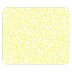Yellow Pattern Double Sided Flano Blanket (small)  by Valentinaart