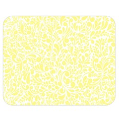 Yellow Pattern Double Sided Flano Blanket (medium)  by Valentinaart