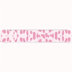 Leopard Pink Pattern Small Bar Mats by Valentinaart