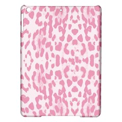 Leopard Pink Pattern Ipad Air Hardshell Cases by Valentinaart