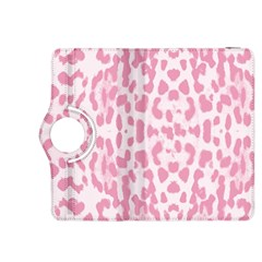 Leopard Pink Pattern Kindle Fire Hdx 8 9  Flip 360 Case by Valentinaart