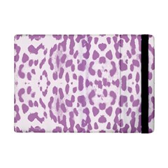 Purple Leopard Pattern Ipad Mini 2 Flip Cases by Valentinaart