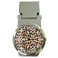 Leopard Pattern Money Clip Watches by Valentinaart