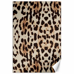 Leopard Pattern Canvas 20  X 30   by Valentinaart