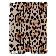 Leopard Pattern Apple Ipad 3/4 Hardshell Case (compatible With Smart Cover) by Valentinaart