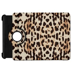 Leopard Pattern Kindle Fire Hd 7  by Valentinaart