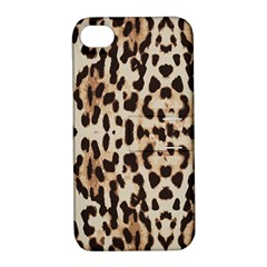 Leopard Pattern Apple Iphone 4/4s Hardshell Case With Stand by Valentinaart