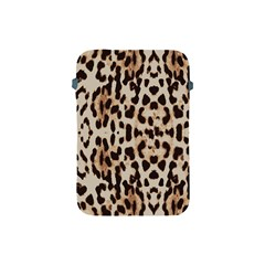 Leopard Pattern Apple Ipad Mini Protective Soft Cases by Valentinaart