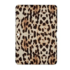 Leopard Pattern Samsung Galaxy Tab 2 (10 1 ) P5100 Hardshell Case  by Valentinaart