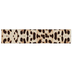 Leopard Pattern Flano Scarf (small) by Valentinaart