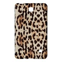 Leopard Pattern Samsung Galaxy Tab 4 (8 ) Hardshell Case  by Valentinaart