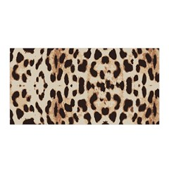 Leopard Pattern Satin Wrap by Valentinaart