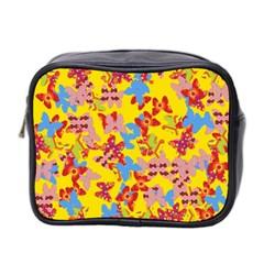 Butterflies  Mini Toiletries Bag 2 Side by Valentinaart