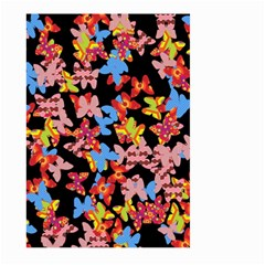 Butterflies Large Garden Flag (two Sides) by Valentinaart