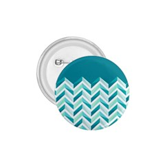 Zigzag Pattern In Blue Tones 1 75  Buttons by TastefulDesigns