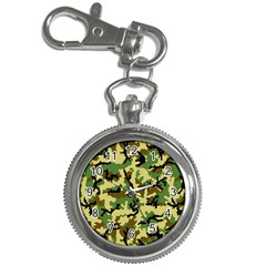 Camo Woodland Key Chain Watches by sifis