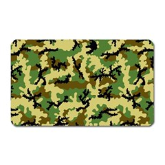 Camo Woodland Magnet (rectangular) by sifis