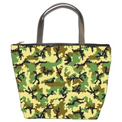 Camo Woodland Bucket Bags by sifis