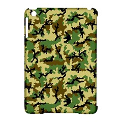 Camo Woodland Apple Ipad Mini Hardshell Case (compatible With Smart Cover) by sifis