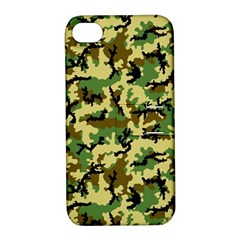 Camo Woodland Apple Iphone 4/4s Hardshell Case With Stand by sifis