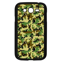 Camo Woodland Samsung Galaxy Grand Duos I9082 Case (black) by sifis