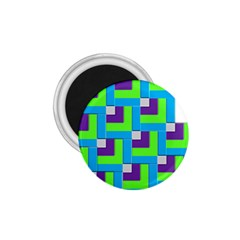 Geometric 3d Mosaic Bold Vibrant 1 75  Magnets by Amaryn4rt