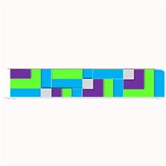 Geometric 3d Mosaic Bold Vibrant Small Bar Mats by Amaryn4rt