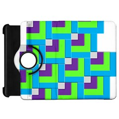 Geometric 3d Mosaic Bold Vibrant Kindle Fire Hd 7  by Amaryn4rt