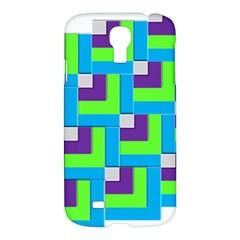 Geometric 3d Mosaic Bold Vibrant Samsung Galaxy S4 I9500/i9505 Hardshell Case by Amaryn4rt