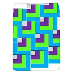 Geometric 3d Mosaic Bold Vibrant Flap Covers (s)  by Amaryn4rt