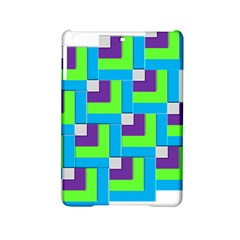 Geometric 3d Mosaic Bold Vibrant Ipad Mini 2 Hardshell Cases by Amaryn4rt