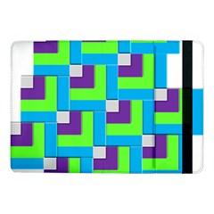 Geometric 3d Mosaic Bold Vibrant Samsung Galaxy Tab Pro 10 1  Flip Case by Amaryn4rt