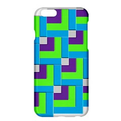 Geometric 3d Mosaic Bold Vibrant Apple Iphone 6 Plus/6s Plus Hardshell Case by Amaryn4rt