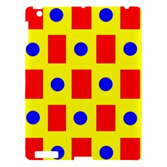 Pattern Design Backdrop Apple Ipad 3/4 Hardshell Case by Amaryn4rt