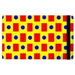 Pattern Design Backdrop Apple Ipad 3/4 Flip Case by Amaryn4rt