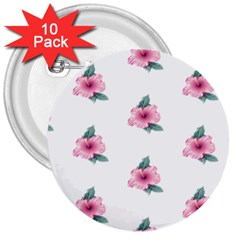 Etro Vintage Former Wallpaper 3  Buttons (10 Pack)  by Amaryn4rt