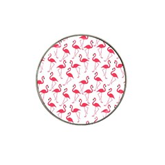 Flamingo Pattern Hat Clip Ball Marker (4 Pack) by Valentinaart