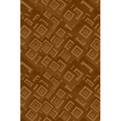 Brown Pattern Rectangle Wallpaper 5 5  X 8 5  Notebooks by Amaryn4rt