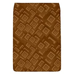 Brown Pattern Rectangle Wallpaper Flap Covers (S)