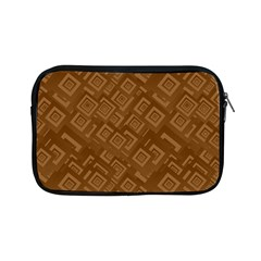 Brown Pattern Rectangle Wallpaper Apple Ipad Mini Zipper Cases by Amaryn4rt