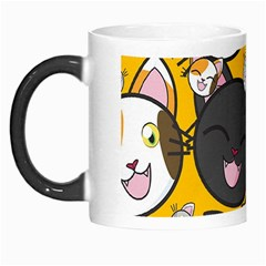 Cats Pattern Morph Mugs by Valentinaart