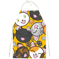 Cats Pattern Full Print Aprons by Valentinaart