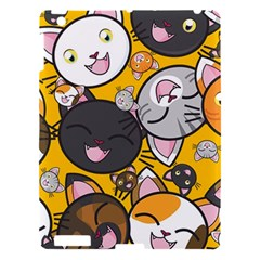 Cats Pattern Apple Ipad 3/4 Hardshell Case by Valentinaart